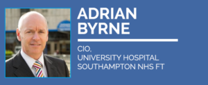Adrian Byrne, CIO at University Hospitals Southampton NHS FT will keynote at Digital Health Virtual Summer School