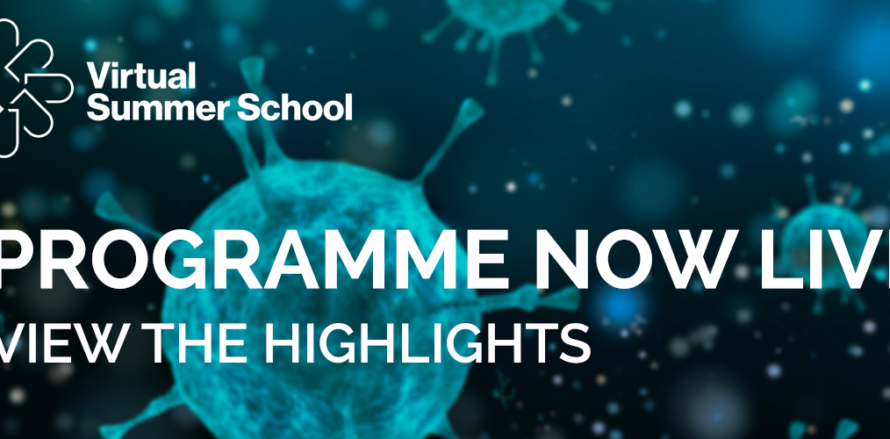 Digital Health Virtual Summer School full programme is now live